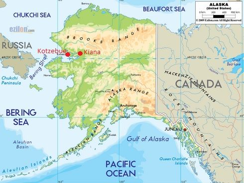 Kotzebue Alaska Map  Google Search  Inside And Around