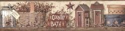 Wallpaper Borders R Us Country Bath