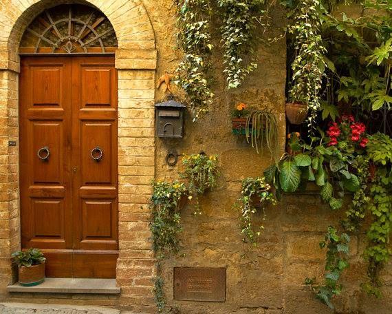 Tuscan Door Tuscan Style Pinterest