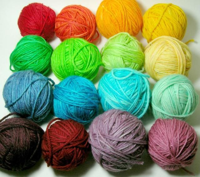 Crocheting Yarn Types : types and weights of yarns Crochet / Knitting Projects Pinterest