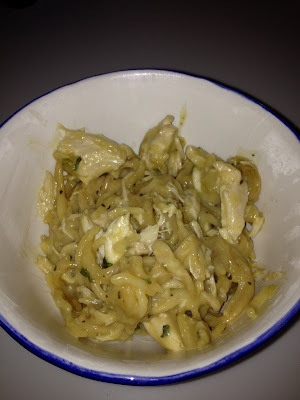 Crock Pot Creamy Chicken Spaghetti | FOOD FOOD FOOD | Pinterest