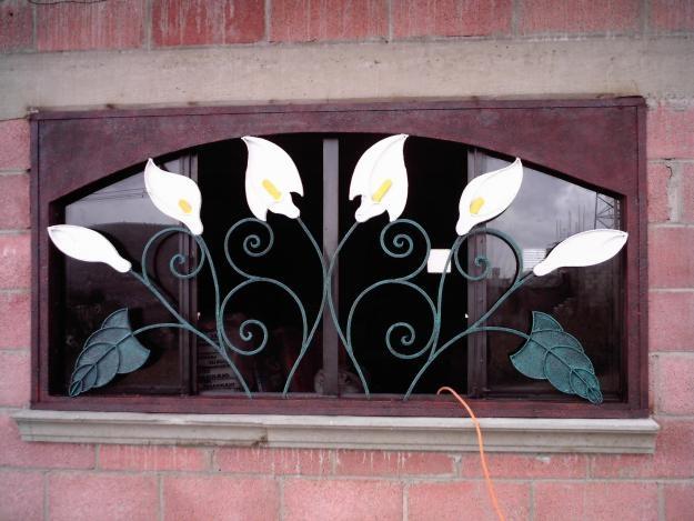 Ventanas de herreria artistica ventanas ventanales for Puertas de herreria artistica