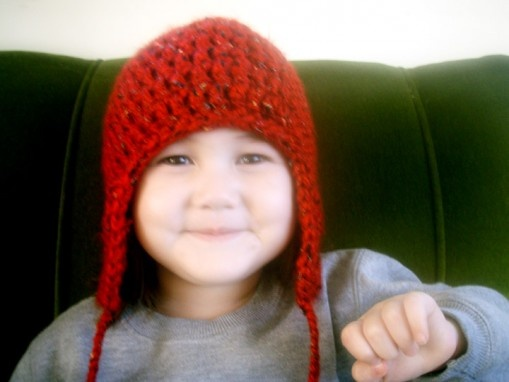 Pattern To Crochet A Hat With Ear Flaps : Crochet hat pattern with ear flaps Crochet Me Pretty ...