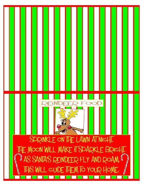 Christmas reindeer food poem images amp pictures findpik