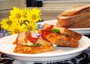 Buffalo Style Turkey Paninis | Recipes | Pinterest