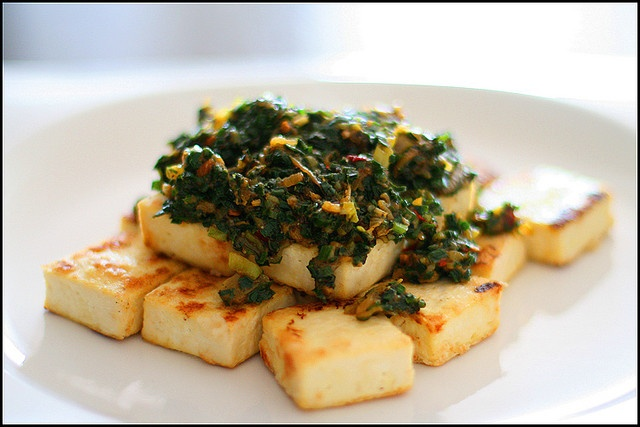 Spicy Sauteed Tofu with Sea Vegetables | Recipes | Pinterest