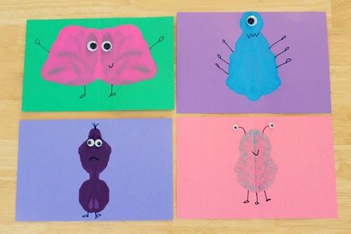 Monster cards...