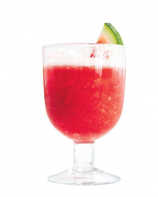 watermelon slushies great summer drink recipe using watermelon vodka ...