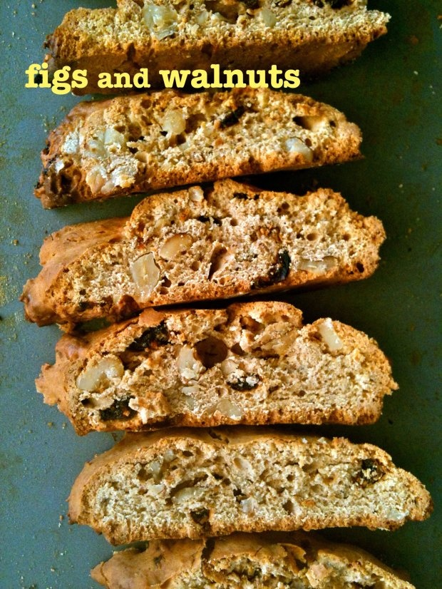 Fig and Walnut Biscotti « a little saffron would make this!