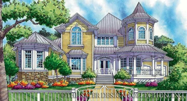 Nice Alexandre Victorian house plan Dream