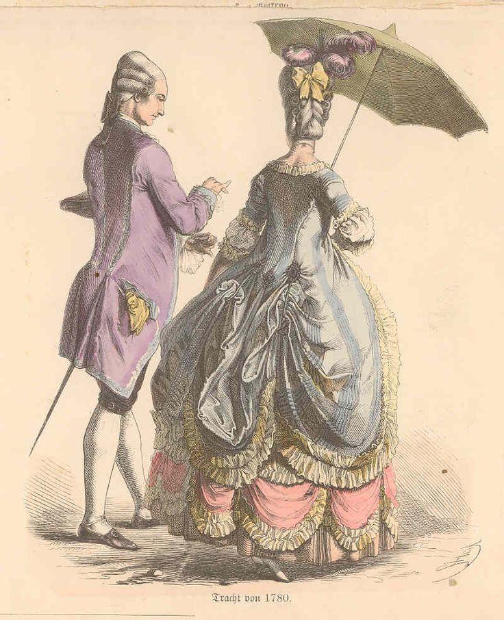 Тарелка из моды 1780