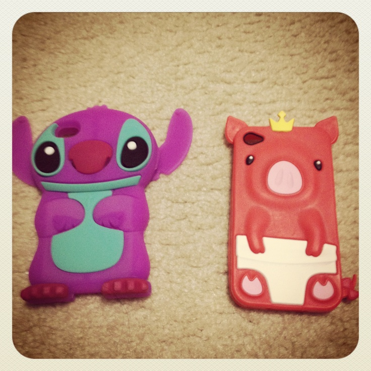My phone cases #stitch #pig : Cool phone case : Pinterest
