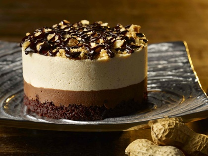 Peanut Butter Dark Chocolate Mousse Topped w/ Crunchy Salted Roasted ...