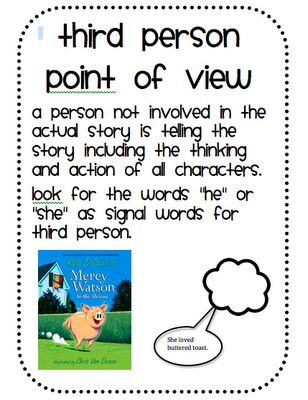 Third Person - Point of View