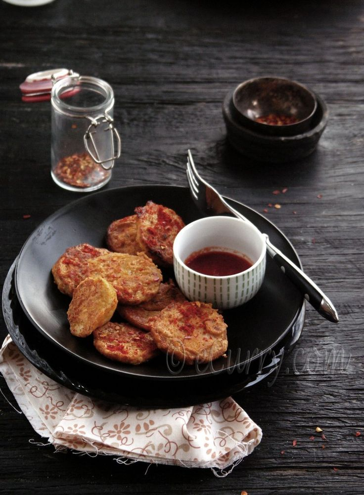 Arbi Fry: Chickpea and Spice crusted Taro | eCurry - The Recipe Blog