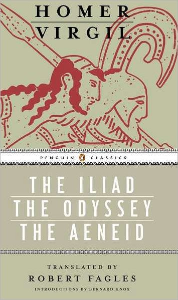 Robert Fagles translation of The Iliad, The Odyssey, and The Aeneid. It's a box set.    This is for the hardcore Greek/Roman mythology lover.