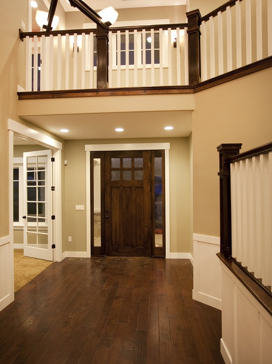 white trim wood floors  For the Home  Pinterest