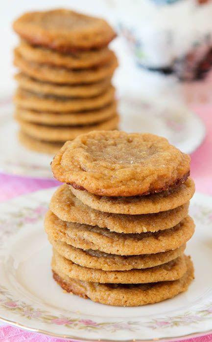 Flourless Peanut Butter Cookies | All About Cookies! | Pinterest