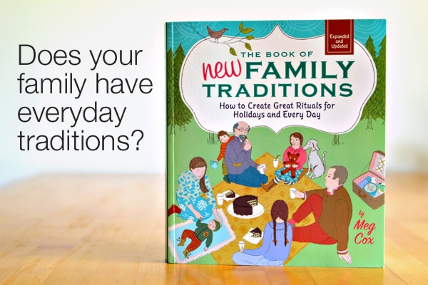 """{Family Rituals} I really do think they are vital. Everyday our family has dinner together, that is a big one for me. I love hearing about the """"little things"""" people do because I actually believe they are the most important things. Would you share your favorite casual family ritual in the comments below?"""