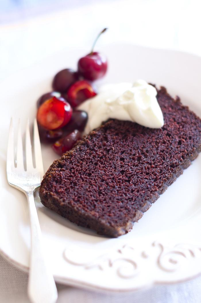 Chocolate Cherry Pound Cake | Cakes | Pinterest