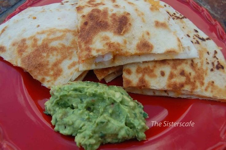 Shrimp Quesadillas | Love to Eat! | Pinterest