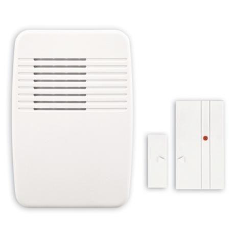 White Entry Alert Plug-In Door Chime | LampsPlus.com