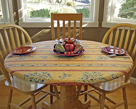 New 31 quot 40 quot fitted round coated tablecloth choose the