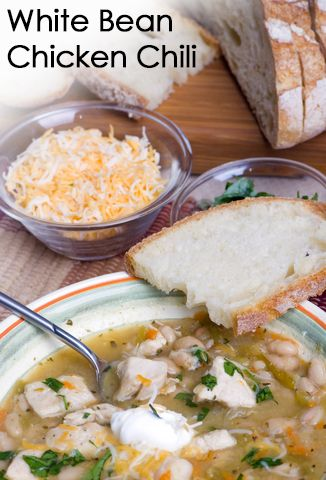 White Bean Chicken Chili | Food | Pinterest