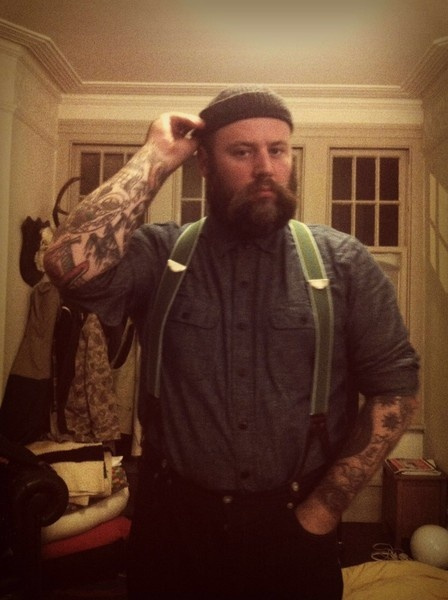 From bearded men in knitted things.