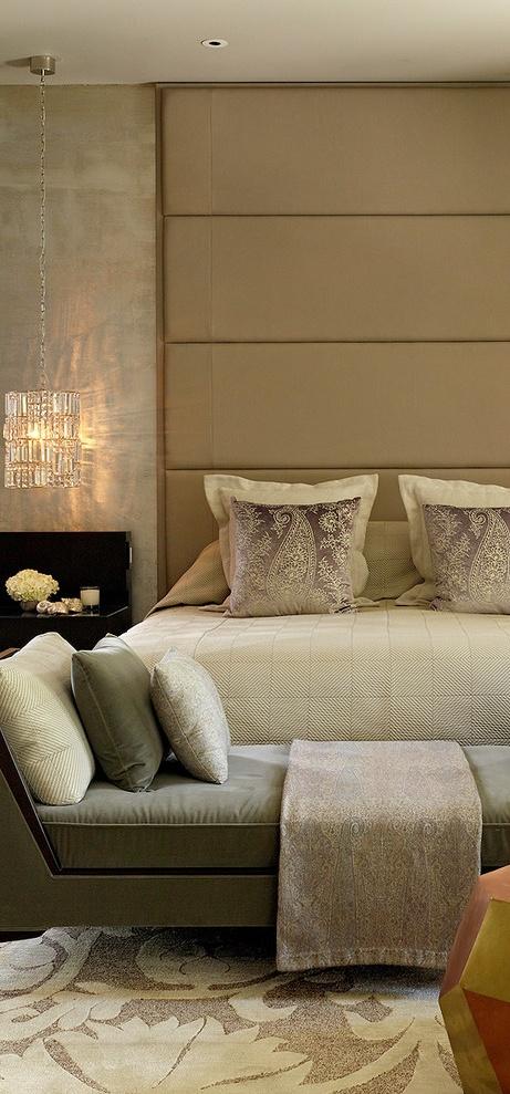 Slaapkamer Ideeen Taupe : Nisje muur slaapkamer home bedroom picture ...