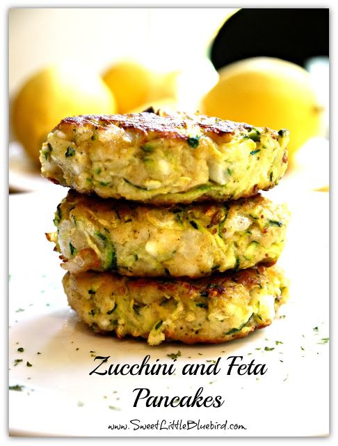 ZUCCHINI AND FETA PANCAKES RECIPE | ...food | Pinterest