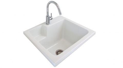 Seima : SBC-620 ceramic - EVA laundry trough,ceramic 620x550