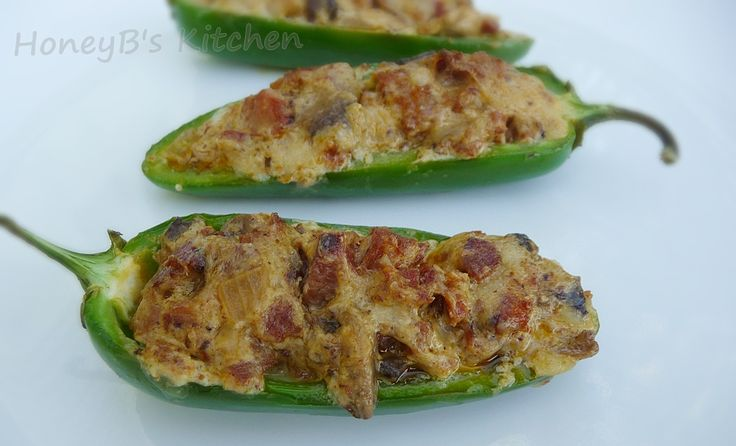 chorizo stuffed jalapeno peppers..this is my go to recipe for tapas ...