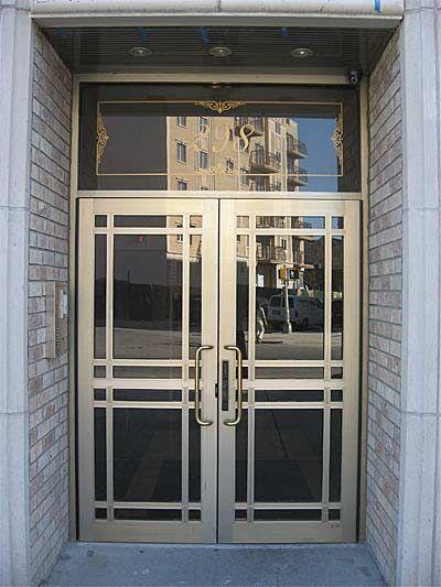 Art Deco Front Door For The Home Pinterest