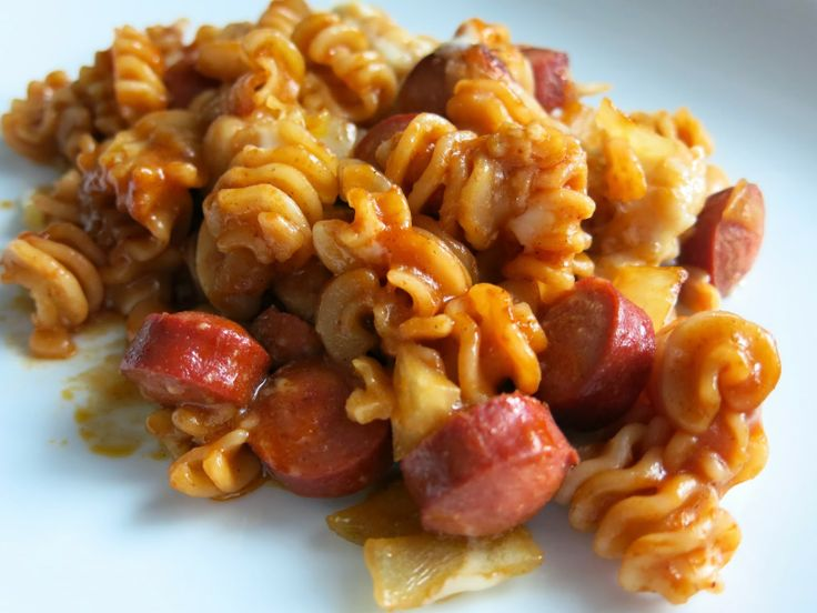 Franks-and-Beans Pasta Bake | Caker Cooking Recipes | Pinterest
