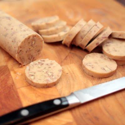Glazed Maple-Pecan Cookies 2-1/2 cups unbleached flour 1/2 tsp table ...