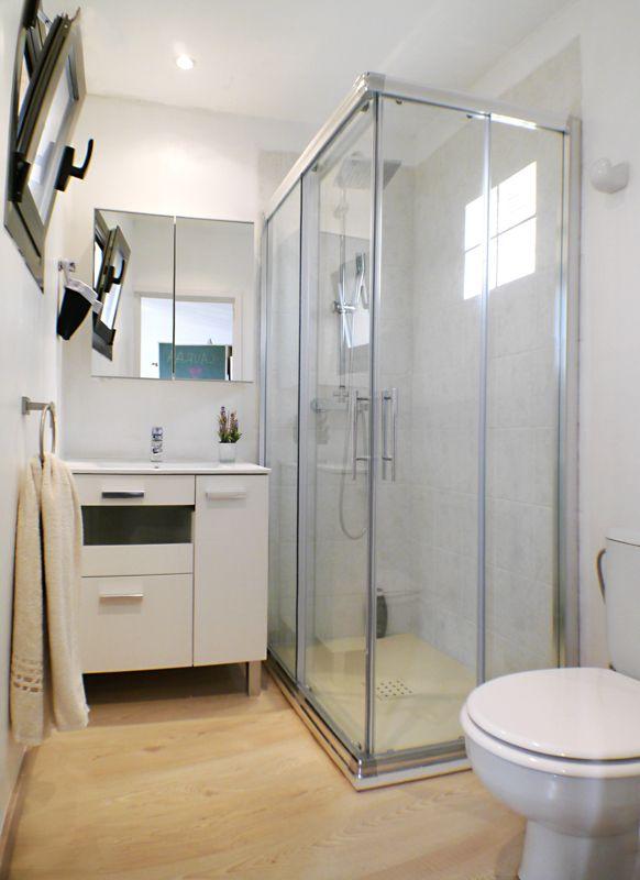 Reforma Baño Mallorca:Reforma del baño de un estudio en el centro de Palma de Mallorca