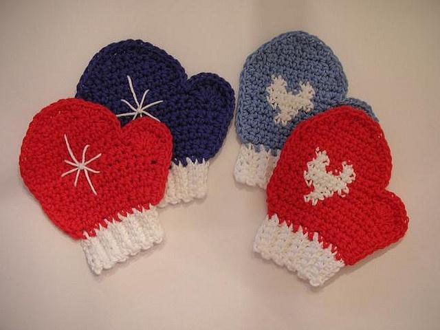 Free Crochet Patterns Mittens Hats : Crochet Mitten Patterns Free Winter Hat Scarf