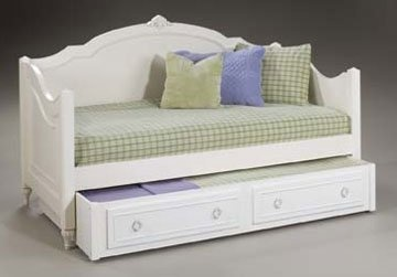Girls twin or full wood bedroom furniture suite mirabella twin daybed