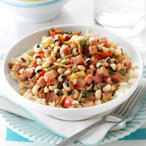Black-Eyed Peas & Ham | Recipe