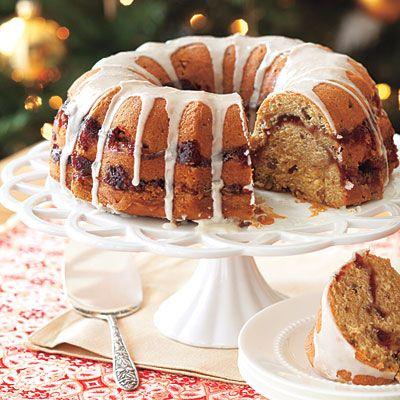 Cranberry Orange & Pecan Coffee Cake Recipe — Dishmaps