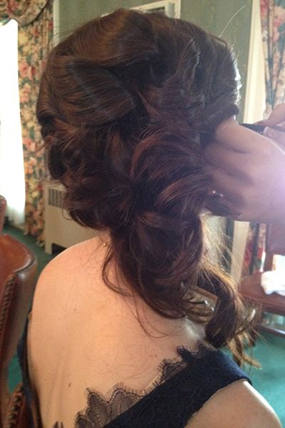 Hair - Wedding Hairstyle Photos | Wedding Planning, Ideas & Etiquette ...