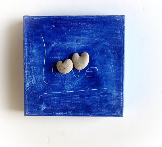 Unique Valentine Gift for Him Ready to Ship by MedBeachStones, $35.00