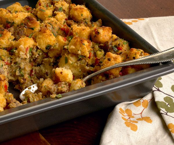 Cornbread & Sausage Stuffing | Recipe