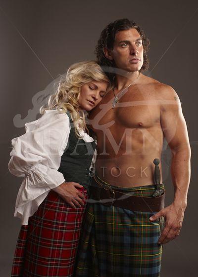 Scottish Highlander Warrior | All the little things | Pinterest