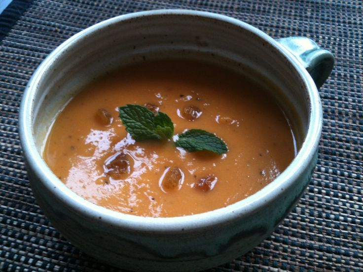 Sweet and Spicy Sweet Potato Soup Recipe | Apps & Sides | Pinterest