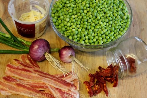 peas and bacon recipe | Eating~ My favorite thing to do! | Pinterest