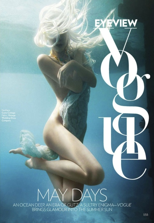 Jessiann Gravel-Beland - Vogue India, May 2012.