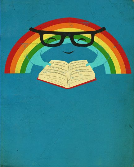 Reading Rainbow :: Take a look! It's in a book, Reading Rainbow!