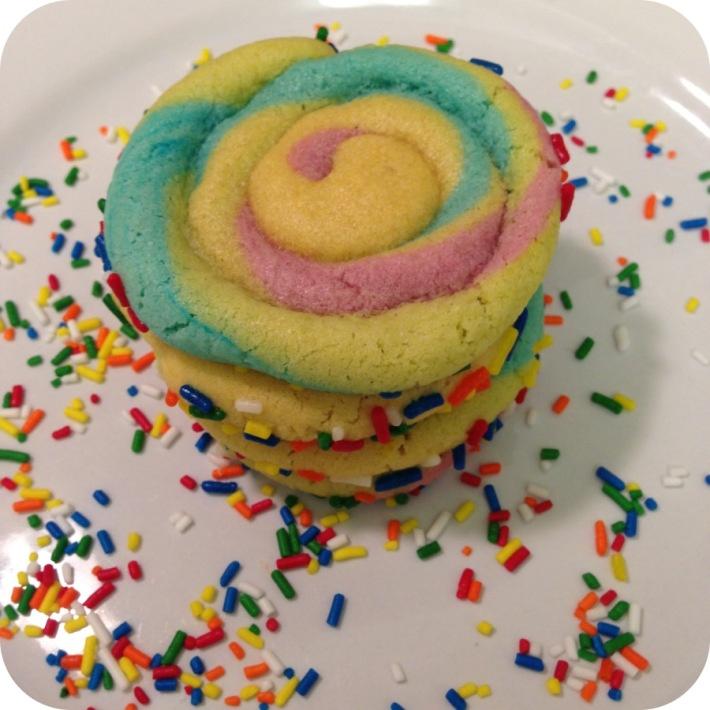 Rainbow Pinwheel Cookies Recipes — Dishmaps